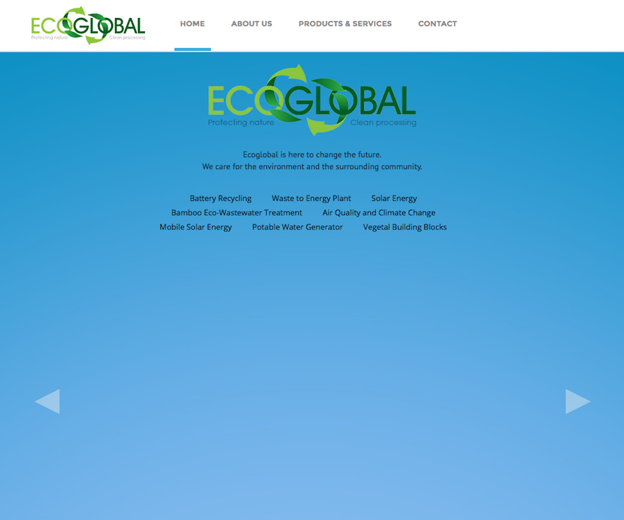 Eco Global Inc.