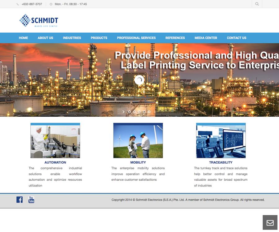 Schmidt Electronics (S.E.A) Pte Ltd.